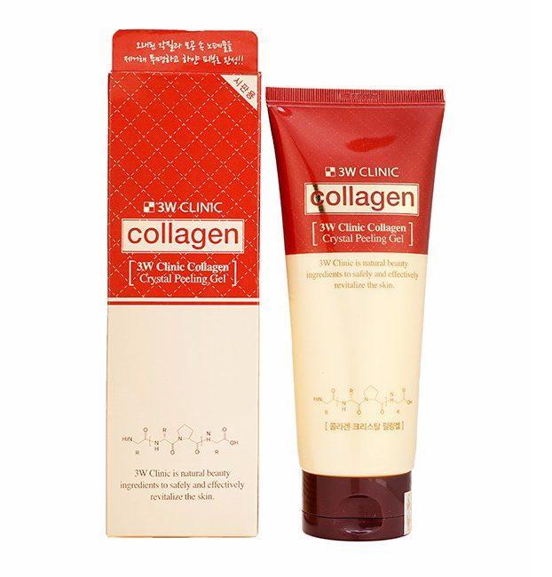 Tẩy da chết 3w clinic collagen