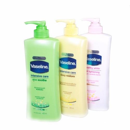 Kem dưỡng thể giữ ẩm Vaseline