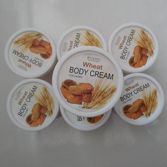 Kem kích trắng dưỡng ẩm Scentio Wheat Body Cream