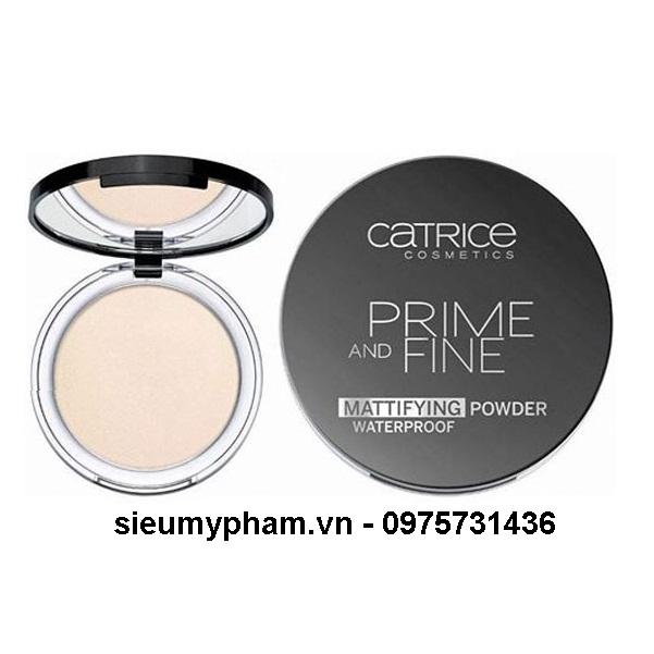 Phấn phủ chống thấm nước Catrice Prime And Fine Mattifying Powder Waterproof