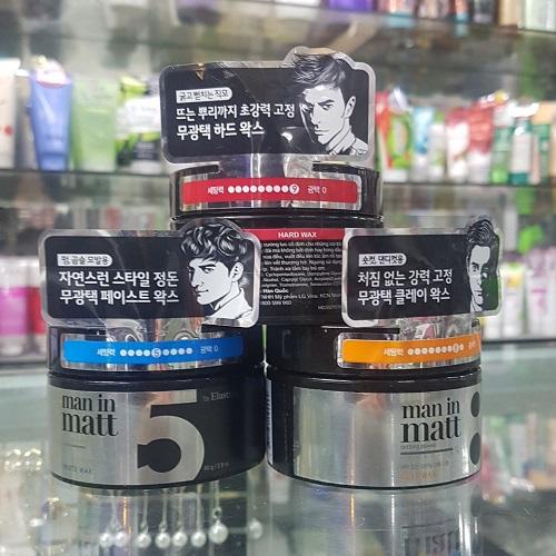Sáp tóc tạo kiểu man in matt Hàn Quốc