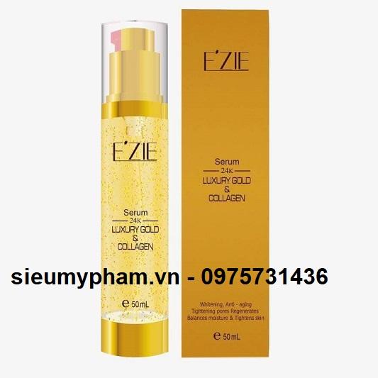 Serum Ezie tinh chất vàng 24k Luxury Gold & Collagen
