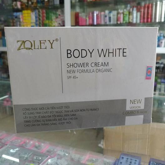 Kem tắm trắng Zoley 6 trong 1