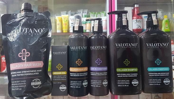 Valotano sản phẩm ngành tóc